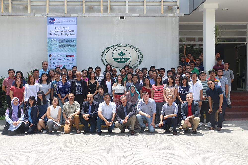 Land Cover/Land Use Change meeting and training, Philippines, 2018